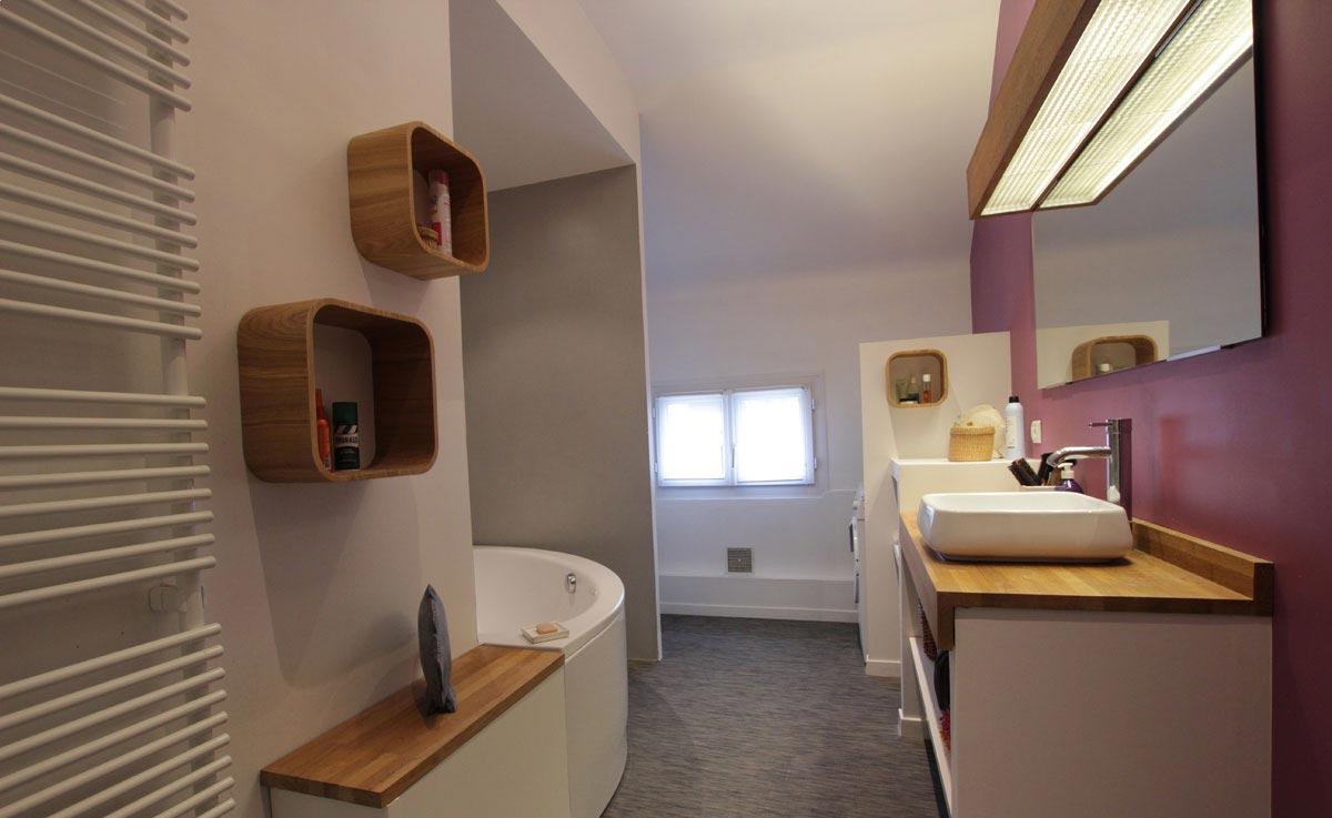 Loft nantes salle de bain ado ma tre en couleur - Salle de bain nantes ...